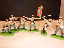 Vintage Britains Detail 6 American Civil War Union Infantry Figures x-shop stock