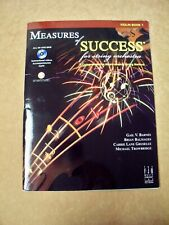 Measure Of Success Violin Book 1 Cd Included *Brand New*