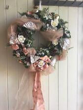 """Christmas Door Wreath 18"""" Diamater"""