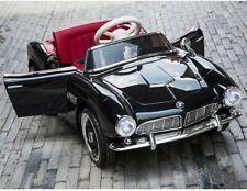 Kinderfahrzeug BMW 507 Oldtimer EVA 12VKinder Elektro Auto Kinderauto schwarz