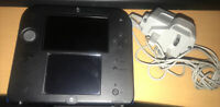 Nintendo 2DS: Blue & Black Console With Charger - Nice Condition - Fully Tested