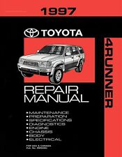 1997 Toyota 4Runner OEM Repair Manual
