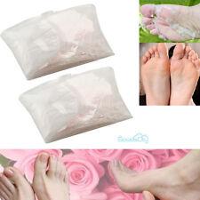 4 Pairs Baby Foot Peeling Renewal Mask Remove Dead Skin Cuticles Heel US SELLER