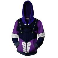 JoJo's Bizarre Adventure Dio Brando Hoodie Cosplay Jacket Full-Zip Sweatshirt