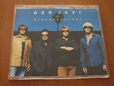 BON JOVI - MISUNDERSTOOD - Australia Promo CD Single 1 Track