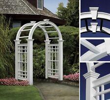 New England Arbors Decorative Westchester Garden Patio Arch w/ 20 Yr Warranty!