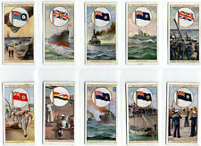 cigarette cards flags of the empire 2nd series 1929 full set