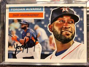 2021 Topps Throwback Thursday Yordan Alvarez #19 Astros