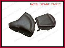 Royal Enfield Sprung Front And Pillion Seat Dark Brown Color