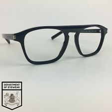 SAINT LAURENT eyeglasses BLACK KEYHOLE SQUARE glasses frame MOD: SL157 001