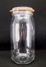 Le Parfait French Glass Canning Jar with Gasket 1.5 Liter