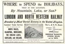 1905 London North Western Railway Affords Best Scenic Access, Frederick Harrison