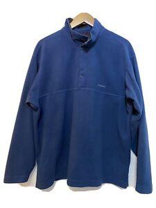 Patagonia Men's Logo Fleece Blue Large