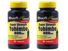 2 X 30 = 60 capsules YOHIMBE 800 mg SEXUAL TESTOSTERONE herbal
