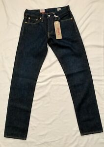 Levi's 511 Made in USA Cone Mills Selvedge Denim 29x32 NEW