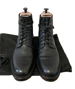 Rare Saint Laurent Ranger Zip Up Combat Boot Black Hedi Slimane Size 43.5 FW16