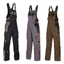 Arbeitslatzhose Berufskleidung Arbeitshose Kombihose Schwarz Ardon NEU (VIS-L)
