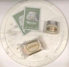 LOCCITANE AMANDE Delicious Paste & Full Soap Bar 2 Milk Concentrate Travel Set