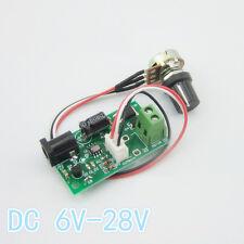 1Pcs DC 6V-28V3A8W mode Motor régulateurvitesse PWM Contrôleur Commutateur 21kHz