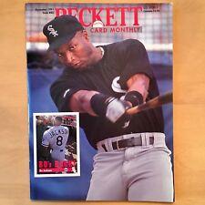 Beckett Baseball Card Monthly #80 November 1991 Jackson White Sox Johnson Mets