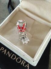 "~Pandora S925 ALE ""Disney Mickey & Minnie True Love Hot Air Balloon "" Charm~"