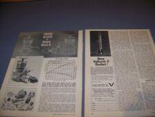 VINTAGE..WEBRA MACH II DIESEL R/C ENGINE..2-VIEWS/SPECS..RARE! (570S)