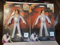 Vintage New & Sealed NJ Croce Elvis Presley Poseable Bendable Figures X 1