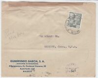 spain  1944 stamps cover ref 19317