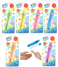 12 x Large Tubes Of Magic Touchable Catchable Bubbles Party Loot Bag Filler Toys