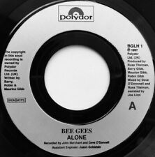 "Bee Gees ‎– Alone / Closer Than Close. Jukebox 7"". Mint"