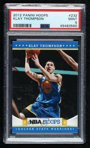 2012-13 NBA Hoops Klay Thompson #232 PSA 9 MINT RC Rookie