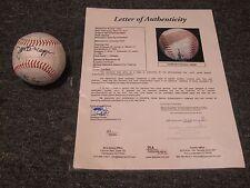 Roger Maris T. Kluszewski  H. Kettle J. DiMaggio Autographed Baseball JSA Cert