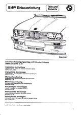 BMW E30 EBA Einbauanleitung SWRA Scheinwerferreinigungsanlage