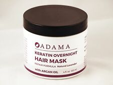 Adama Keratin Overnight Hair Mask Lavender 4 fl oz 120 ml