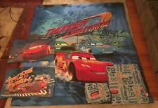 Disney Cars Thunder After Lightning Full Comforter Twin Bed Set Original 2006