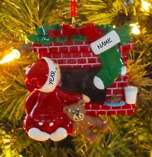 Waiting For Santa Our First Personalized Christmas Ornament Holiday