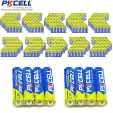 Lots of 1000X PKCELL AAA R03P Carbon-Zinc UM4 Extra Heavy Duty 1.5V Battery