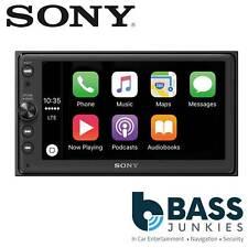 Sony XAV-AX100 4 x 55 W 6.4 Mechless CarPlay Bluetooth Android iPhone Car Stereo