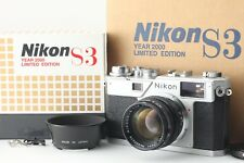 [BRAND NEW] Nikon S3 2000years model LIMITED EDITION w/50mm f1.4 from Japan #725