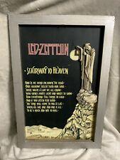 Led-Zeppelin Framed Art Stairway To Heaven 2005