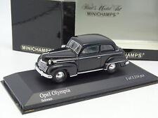 Minichamps 1/43 - Opel Olympia 1952 Negra