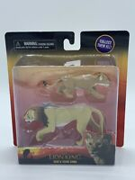 Disney The Lion King Collectible Figurines (Scar & Young Simba) BRAND NEW!