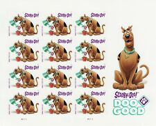 SCOOBY-DOO STAMP SHEET -- USA #5299 FOREVER 2018