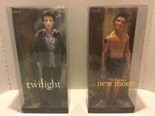 LOT! 2 Barbie Collector PINK LABEL EDWARD & JACOB Dolls The TWILIGHT Saga NIB!