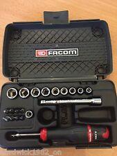 Facom tools 1/4 drive sockets set pilote + bit set no cliquet