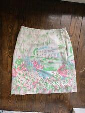 New listing vintage border print skirt