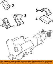 HONDA OEM Passport Engine Motor & Transmission-Mounting Bracket Left 8971065581