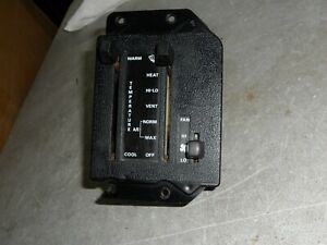 1984 1985 1986 Ford Mustang Capri HVAC A/C Heater Controls Assembly