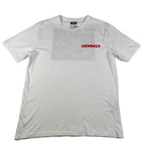 Star Wars Chewbacca T Shirt Adult Large Zara Brand Graphic Tee