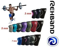 Rehband Kniebandage Cross Fit Bandage Fitness-Kniebandage Bandage | 3,5,7 mm